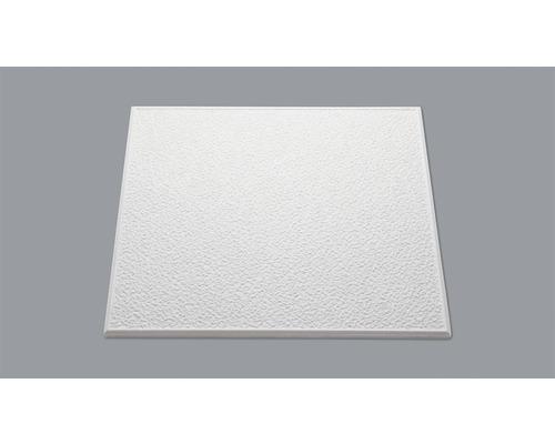 Dalle de plafond aspect crépi T101 blanc 50x50 cm x 10 mm paquet de 8