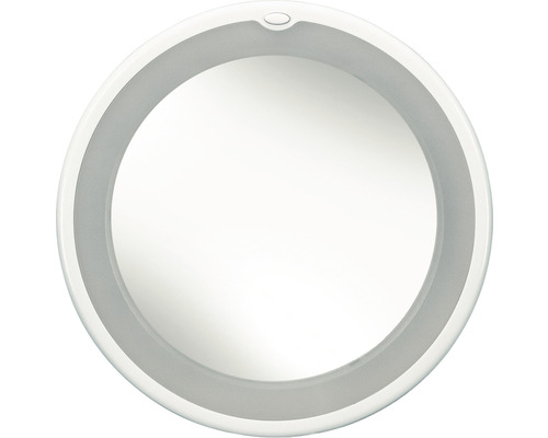Miroir de maquillage Flexy quintuple agrandissement avec éclairage