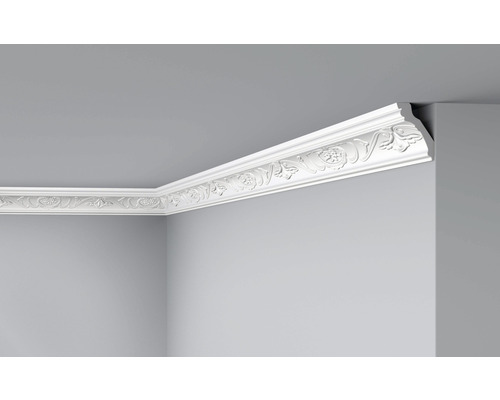 Moulure de plafond E26 blanc 2 m