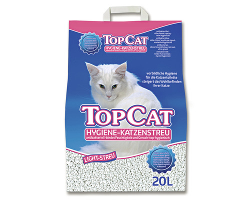 Hygienestreu TOP CAT 20 l weiß