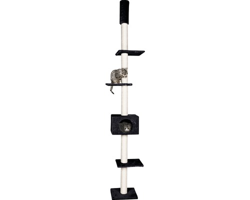Arbre à chats Cometa 35 x 35 x 263 cm, noir