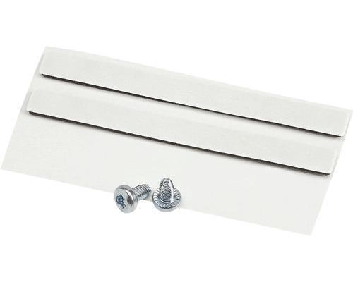 Kit de raccordement pour 2 luminaires plafonniers blancs
