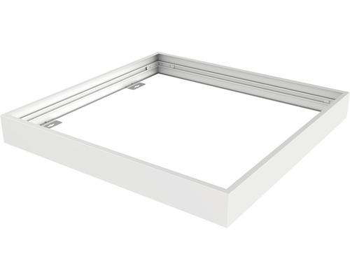 Set de cadre d''assemblage 625x625x70 mm blanc pour luminaires LED encastrés