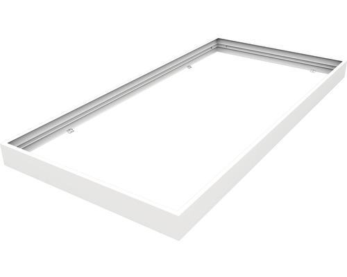 Set de cadre d'assemblage 1200x600x70 mm blanc pour luminaires LED encastrés