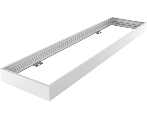 Set de cadre d''assemblage 1200x300x70 mm blanc pour luminaires LED encastrés