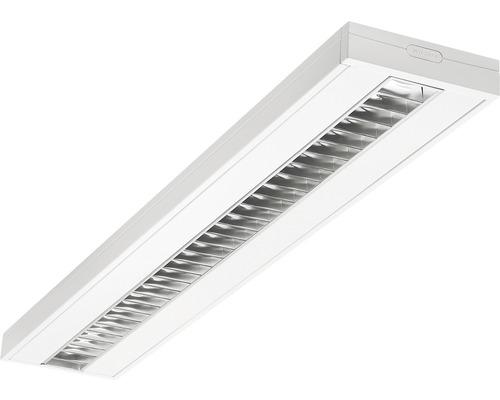 Éclairage à encastrer acier LED/polycarbonate 34W3250 lm4000 K blanc neutre 1500X200 mm Asym blanc couvercle transparent