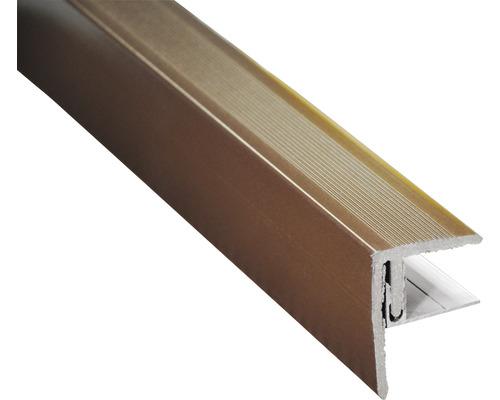 Finition latérale brun chocolat 2500x64x48 mm
