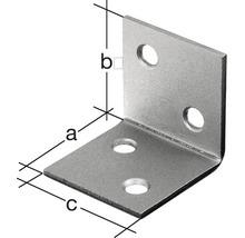 Angle large 40x40x40mm, jaune galvanisé, 1 unité-thumb-2