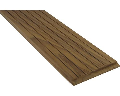 Terrassendiele Thermoesche mit Nut und Feder endlos verlegbar 21x135x2150 mm
