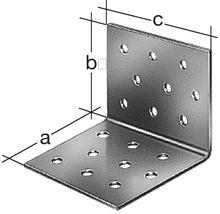 Equerre à plaque perforée 60x60x40mm, galvanisée sendzimir, 15 unité-thumb-1