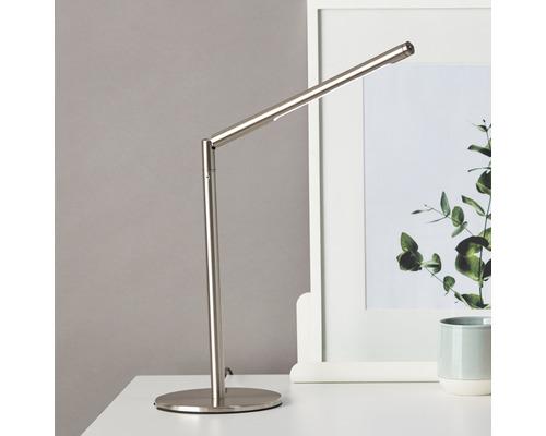 Lampe de bureau LED 3W 270 lm 6.400 K blanc lumière du jour H 570 mm Bombay fer