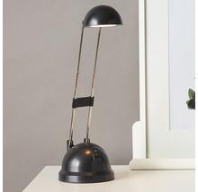Lampe de bureau LED 8,3W 400 lm 2700 K blanc chaud H 480 mm Katrina noir-thumb-0