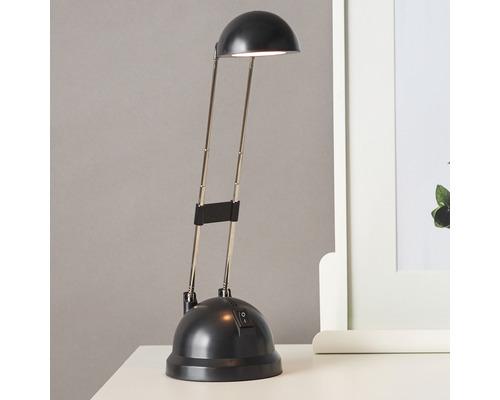 Lampe de bureau LED 8,3W 400 lm 2700 K blanc chaud H 480 mm Katrina noir-0
