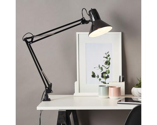 Lampe de bureau Hobby 1 ampoule noire