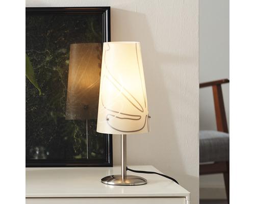 Lampe de table Isi 1 ampoule beige