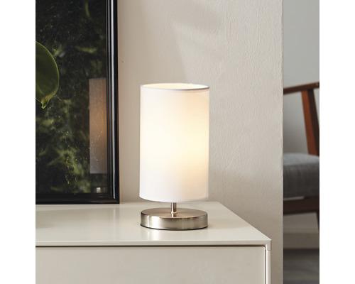 Lampe de table 2 ampoules H255mm Clarie blanc