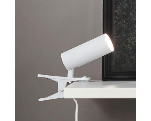 Spot à fixation LED Soeren métal 4,5W 410 lm 4000 K blanc neutre hxL 180/130 mm blanc/mat
