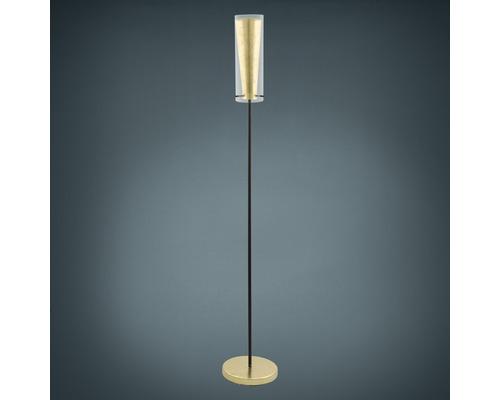 Lampadaire EGLO Pinto or-noir 1 ampoule E27/60 watts