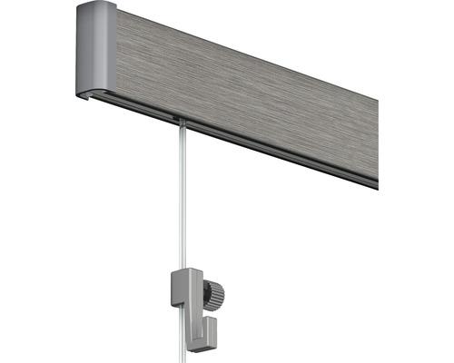 Système de suspension Click Rail tout en un, 2 m, aluminium
