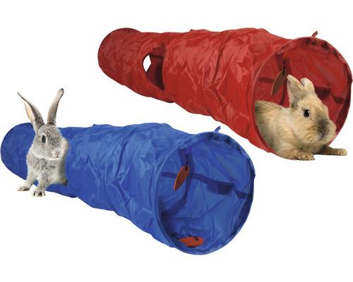 Tunnel pour lapins Karlie Roadster 120 cm choix de couleurs aléatoire