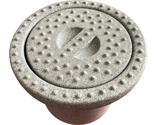Wasser-Anschlussbox granitgrau