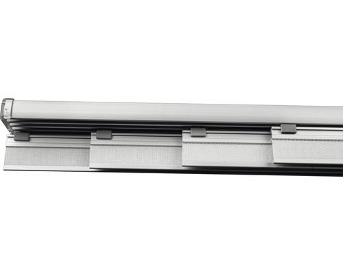 Rail pour panneau japonais kit complet quatre voies alu 225cm