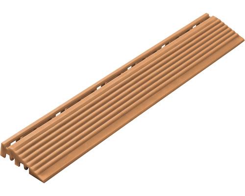 Partie latérale dalle à clipser 1.8x6.2 cm terre cuite 4-pièces