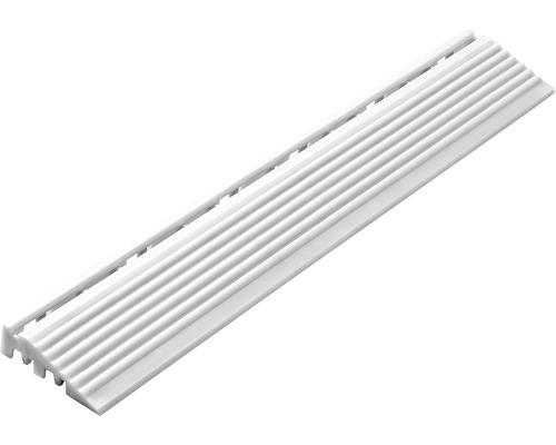 Partie latérale dalle à clipser 1.8x6.2 cm blanc 4-pièces