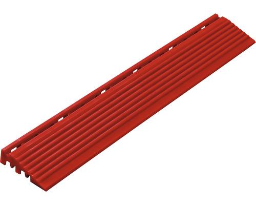 Partie latérale dalle à clipser 1.8x6.2 cm rouge 4-pièces