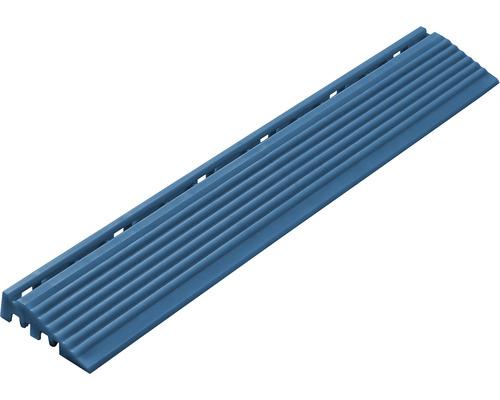 Kit parties latérales dalle à clipser, 1.8x6.2 cm, bleu, 4 unités