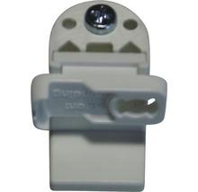 Support de serrage pour store plissé sur mesure BASIC blanc-thumb-0
