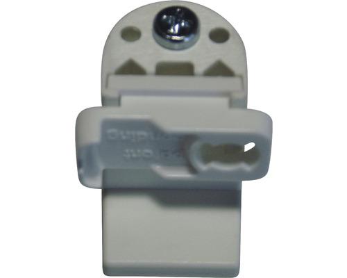 Support de serrage pour store plissé sur mesure BASIC blanc-0