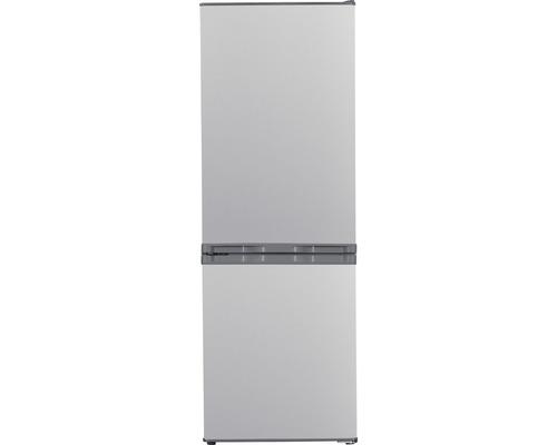 Réfrigérateur congélateur PKM KG240EIX lxhxp 50.00 x 142.20 x 56.00 cm compartiment de réfrigération 121 l compartiment de congélation 52 l-0