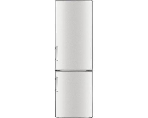 Réfrigérateur congélateur PKM KG249EIX-M lxhxp 55.00 x 180.00 x 56.00 cm compartiment de réfrigération 191 l compartiment de congélation 71 l-0