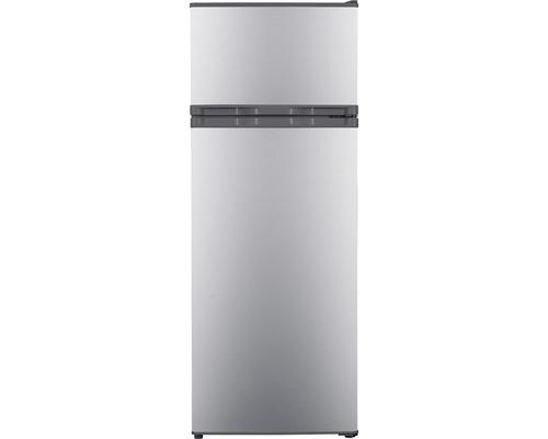 Réfrigérateur congélateur PKM GK212 SI lxhxp 54.50 x 143.00 x 55.50 cm compartiment de réfrigération 169 l compartiment de congélation 37 l-0