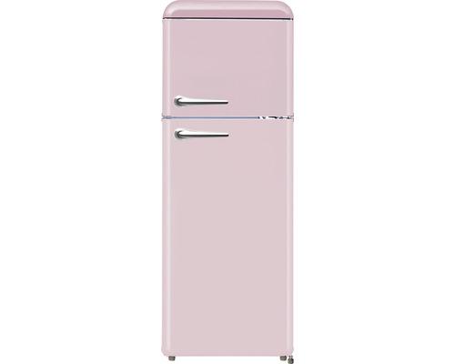 Réfrigérateur congélateur Wolkenstein WKG218RT SP lxhxp 55 cm x 147 cm x 60 cm cm compartiment de réfrigération 160 l compartiment de congélation 48 l-0