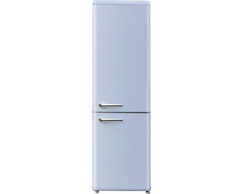 Réfrigérateur congélateur Wolkenstein WKG265RT LB lxhxp 55 cm x 188,30 cm x 60 cm cm compartiment de réfrigération 186 l compartiment de congélation 64 l-0