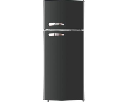 Réfrigérateur congélateur PKM GK210 SB lxhxp 54,50 cm x 140,60 cm x 54,50 cm cm compartiment de réfrigération 160 l compartiment de congélation 48 l-0