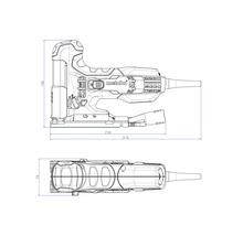 Scie sauteuse Metabo STE 100 Quick, avec lame de scie sauteuse-thumb-1