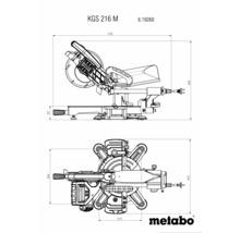 Zug-, Kapp- und Gehrungssäge Metabo KGS 216 M inkl. 2x Sägeblatt Ø 216 x 30 mm (40Z)-thumb-4