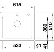Évier BLANCO BLANCO PALONA 6 524731 blanc cristal brillant-thumb-5
