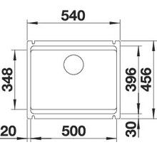 Évier BLANCO BLANCO ETAGON 500-U 525155 noir-thumb-5