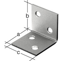 Angle large 40x40x40mm, acier inoxydable, 1 unité-thumb-1