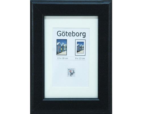 Cadre en bois Göteborg noir 13x18 cm