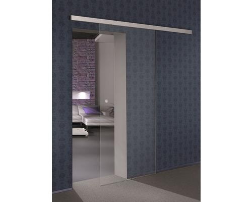 Vantail de porte coulissante en verre Pertura Selir clair 205x92 cm