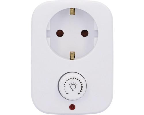 Connecteur intermédiaire avec variateur 40-280Watts blanc