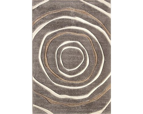 Tapis tissé à la machine Ventus brun clair 67x140 cm