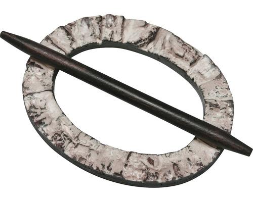 Embrasse anneau décoratif wenge ovale