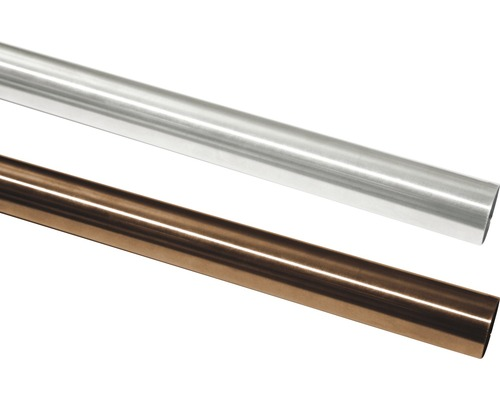 Tringle à rideau Windsor Ø 25mm bronze 160cm