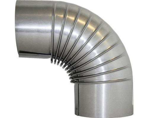 Conduit de poêle coudé 90° Ø 110 mm aluminié à chaud